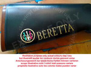 Beretta Vinyl Decal Sticker For Shotgun / Rifle / Case / Gun Safe / BER1