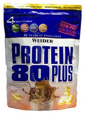 21,98�'�/kg,Weider Protein 80 plus,  500g Eiweiss Beutel  MHD ANGEBOT