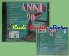 CD ANNI 90 VOL 1 compilation 1996 SIGILLATO LITFIBA ENRICO RUGGERI NOMADI (C22)