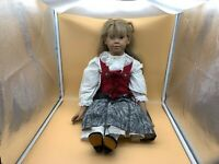 Sigikid Ilse Wippler Vinyl Puppe 70 cm. Top Zustand