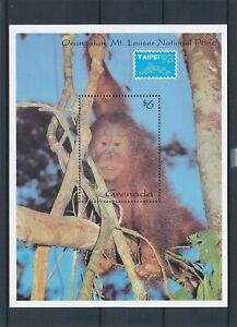 [343883] Grenada 1993 monkey good very fine MNH sheet
