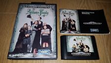 THE ADDAMS FAMILY Mega Drive COMPLETE with MANUAL