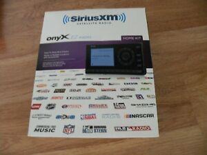 Sirius XM Home Satellite Radio Receiver Onyx EZ Radio Home Kit XEZ1H1 NEW SEALED