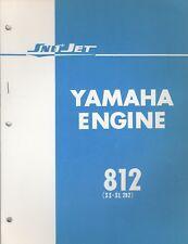 1971 YAMAHA SNO JET ENGINES 812 (SS-SL 292) PARTS MANUAL (669)