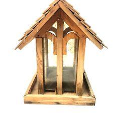 Perky Pet Bird House  Wood