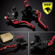 Brake Clutch Levers Master Cylinder Reservoir KIT for Yamaha Honda Suzuki Ducati