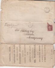 # 1864 BOOKPOST CIRC & PLANS SALE ESTATES CHIRBURY SALOP TO MONTGOMERY SOLICITOR