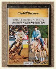 Clinton Anderson BARREL RACING SUCCESS 6 DVD's complete series