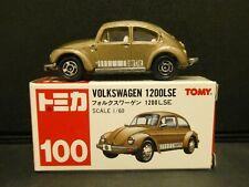 Vintage TOMY Tomica #100 Volkswagen 1200LSE 1/60 Diecast Original Box NOS 1977