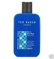 Ted Baker Men Shower Gel Hair & Body Wash Sporty & Fresh 200ml