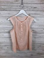 WHISTLES Top - Size UK12 - Pink - Great Condition - Women's