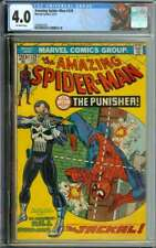 AMAZING SPIDER-MAN #129 CGC 4.0 OW PAGES // 1ST APP OF THE PUNISHER 1974
