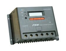 60A solar panel charge controller / regulator with LCD display for camper / boat