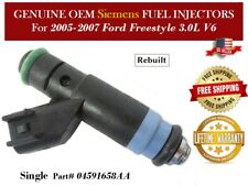 1 Fuel Injector OEM Siemens for 2005-2007 Ford Freestyle 3.0L V6 #04591658AA