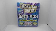 Party Tyme Karaoke: Variety Pack, Vol. 6 [Box] by Karaoke (CD, Sep-2014, 4...