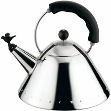 Alessi 9093 B 2 L Stainless Steel Kettle - Black