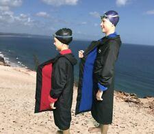 Swim Parka Wazsup Black with Red Size XS  (deck coat, swim jacket, beach robe)