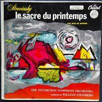Stravinsky - Sacre Du Printemps, STEINBERG, PITTSBURGH SYMPHONY, Capitol P8254