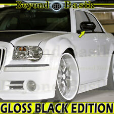 05-10 CHRYSLER 300 06-10 CHARGER 05-08 MAGNUM GLOSS BLACK Mirror COVERS Overlays
