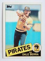 Dale Berra #305 Topps 1985 Baseball Card (Pittsburgh Pirates) VG