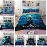 Bedding Set Quilt Cover Pillow case Duvet 3PC Warm and comfort 3D Aquaman Design