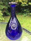 Kastrup Holmegaard Cobalt Blue Glass Viking Carafe By Ole Winther