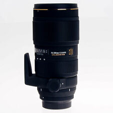 AS-IS Nikon Sigma AF 70-200mm F2.8 APO EX DG OS HSM Telephoto Zoom Lens 589306