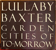 BOOMPA BPA015 CD: LULLABY BAXTER - Garden Cities of To-morrow - 2006 CANADA