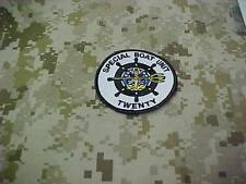 SPECIAL BOAT UNIT 20 SBU 20 SWCC RIVERINE OLD STYLE RIVERINE  OFFICIAL PATCH