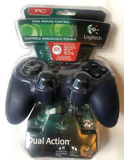 Logitech PC Dual Action Analog Control ** NEW SEALED ** Video Game Controller