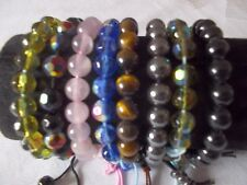 Glass Friendship Adjustable Costume Bracelets