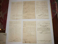 (19) 1888-1889 LETTERS/CORRESPONDENCE NOTES- DATED/SIGNED - NICE - TUB RH-2