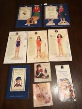 Vintage American Girl Pastimes Molly's Paper Dolls-Theater Kit & More