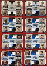 2010-11 Absolute Lot 8 Team Quad Jersey /100 Dirk Jason Kidd Tim Duncan Parker