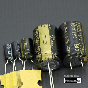 [AudioJade] 220uF 470uF 2200uF 16V Pureism PX Panasonic For Audio Capacitors