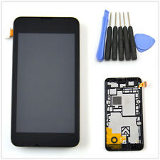 Full LCD Touch Screen Glass Panel Digitizer Assembly + frame for Nokia Lumia 530