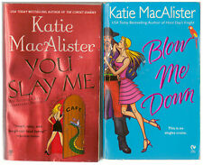 Lot of 2 Katie MacAlister books VR GAME Blow Me Down AISLING GREY You Slay Me