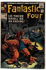 FANTASTIC FOUR #43 VG/FN Frightful Four Appearance! 1965 Marvel Silver-Age Comic