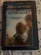 Atonement (DVD, 2008, Full Screen) - Good