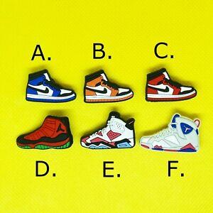Jordan Shoe Charms - Crocs Compatible - Various Designs