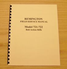 Remington Model 721 – 722  Field Service Manual - Gunsmith - Repair - #23