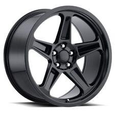 2x 20x10.5 Dodge SRT Hellcat Demon Replica 5x115 +22 Gloss Black Wheels