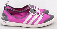 Adidas G64415 NEW Climacool Pink Mesh Lace Up Water Boat Shoes Women's U.S. 9.5