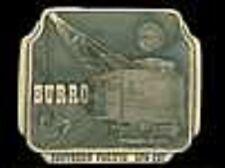 SP BURRO CRANE solid bronze buckle,  #083/300