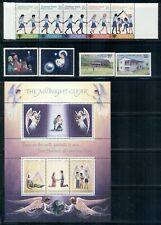 CHRISTMAS ISLAND 89-111 SG108-35 MNH 1979-80 Commemoratives 4 sets, 1MS Cat$6