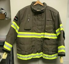 "Lion Super Commando Khaki Advance 32"" Turn-out Fire Coat 5632R - NEW"