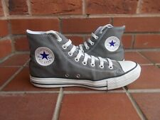 CONVERSE Grey Hi-Top Trainers * s8 uk * WORN ONCE!!