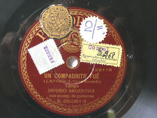 Imperio Argentina-un compadrito fue-español Parlophone 78 Rpm ex