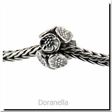 Authentic Trollbeads Sterling Silver 11449 Cherry Blossoms :1