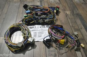 Lada Laika Riva 2107 Full Set of Electrical Cables